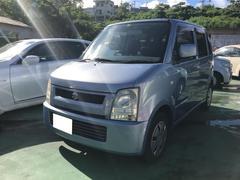 沖縄の中古車 スズキ ワゴンR 車両価格 14万円 リ済込 平成17年 17.2万K ライトブルー