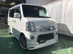 沖縄の中古車 スズキ エブリイワゴン 車両価格 55万円 リ済込 平成23年 15.2万K パール