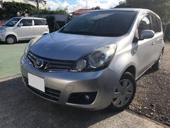 沖縄の中古車 日産 ノート 車両価格 45万円 リ済込 平成22年 8.6万K シルバー