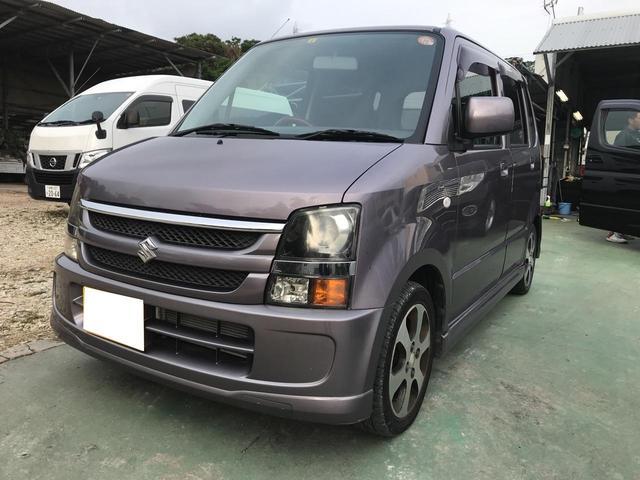 沖縄の中古車 スズキ ワゴンR 車両価格 26万円 リ済込 平成20年 7.8万km パープル