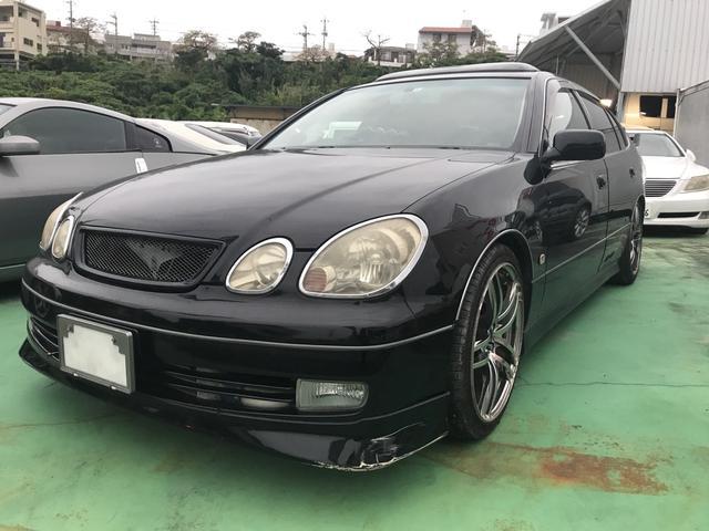 沖縄県中頭郡西原町の中古車ならアリスト V300ベルテックスエディション