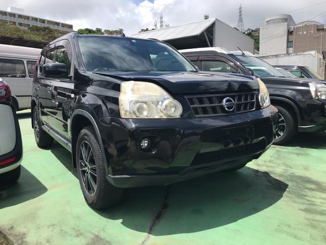 沖縄の中古車 日産 エクストレイル 車両価格 45万円 リ済込 2009(平成21)年 16.2万km ブラック