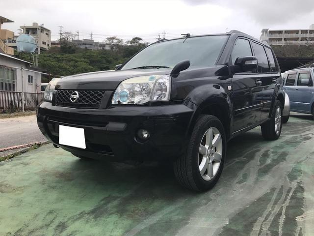 沖縄の中古車 日産 エクストレイル 車両価格 50万円 リ済込 2006(平成18)年 10.6万km ブラック