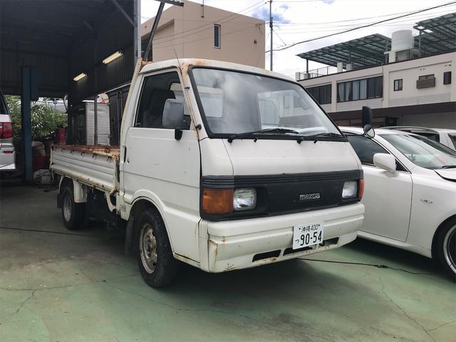 沖縄の中古車 マツダ ボンゴトラック 車両価格 19万円 リ済込 1995(平成7)年 18.8万km ホワイト