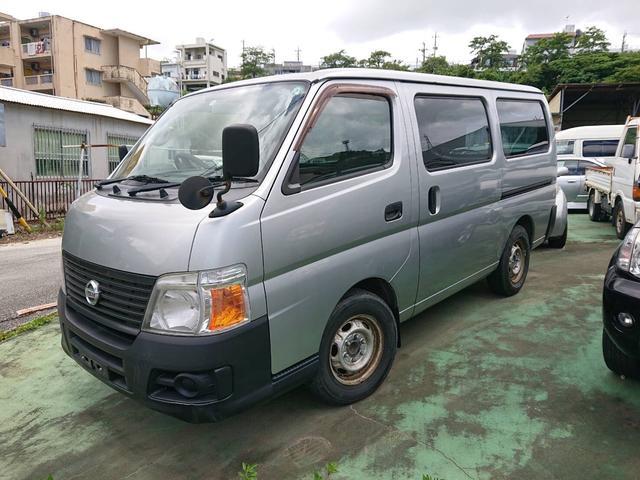 沖縄の中古車 日産 キャラバン 車両価格 35万円 リ済込 2007(平成19)年 16.3万km シルバー