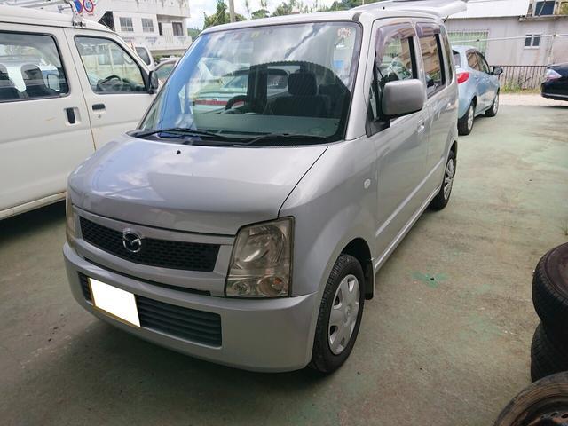 沖縄の中古車 マツダ AZワゴン 車両価格 12万円 リ済込 2006(平成18)年 13.7万km シルバー