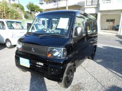沖縄の中古車 三菱 ミニキャブバン 車両価格 29万円 リ済込 平成20年 13.9万K ブラック