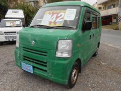 沖縄の中古車 スズキ エブリイ 車両価格 36万円 リ済込 平成24年 11.7万K グリーン