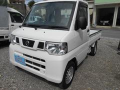 沖縄の中古車 日産 NT100クリッパートラック 車両価格 40万円 リ済込 平成24年 6.9万K ホワイト