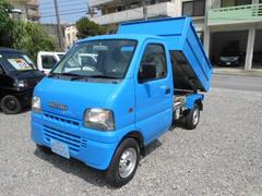 沖縄の中古車 スズキ キャリイトラック 車両価格 39万円 リ済込 平成12年 9.5万K ブルー