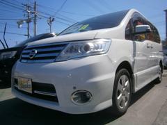 沖縄の中古車 日産 セレナ 車両価格 79万円 リ済込 平成22年 9.4万K パールホワイト