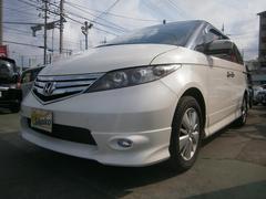 沖縄の中古車 ホンダ エリシオン 車両価格 109万円 リ済込 平成23年 8.2万K パールホワイト