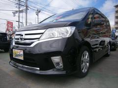 沖縄の中古車 日産 セレナ 車両価格 129万円 リ済込 平成25年 8.5万K Dブラック