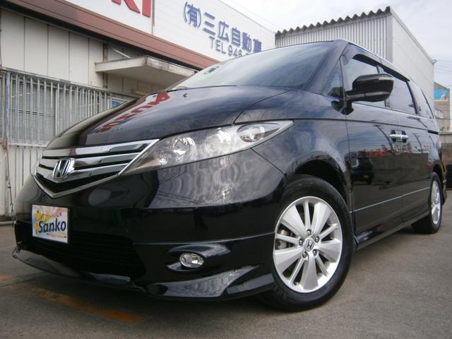 沖縄の中古車 ホンダ エリシオン 車両価格 119万円 リ済込 平成24年 8.9万km DブラックM
