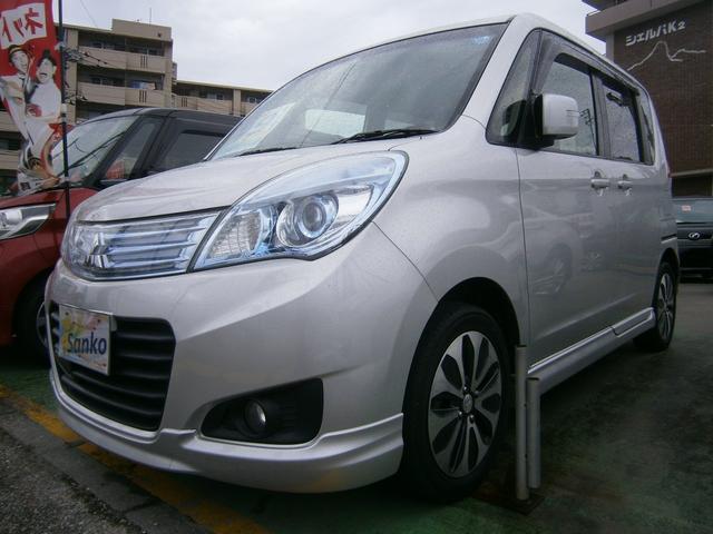 沖縄県の中古車ならデリカD:2 S AS&G 両側パワースライドドア メモリーナビ