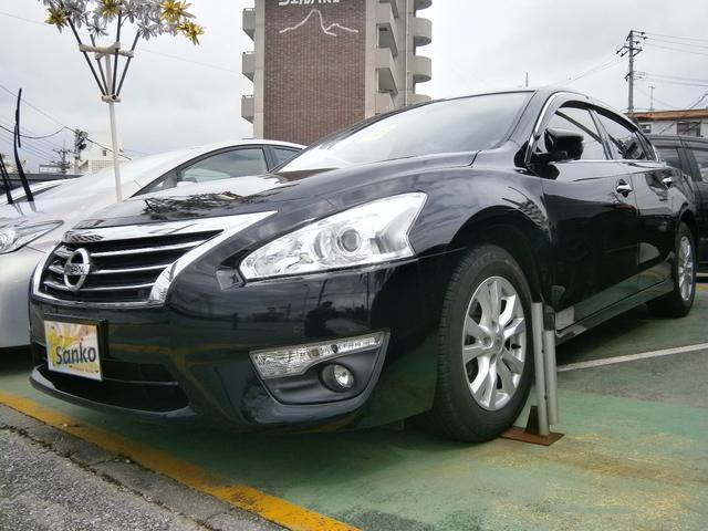 沖縄県の中古車ならティアナ XLSDナビアラウンドビューモニターエマージェンシーブレーキ