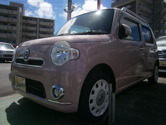 沖縄県の中古車ならミラココア ココアプラスXスペシャルコーデ SDナビ バックモニター