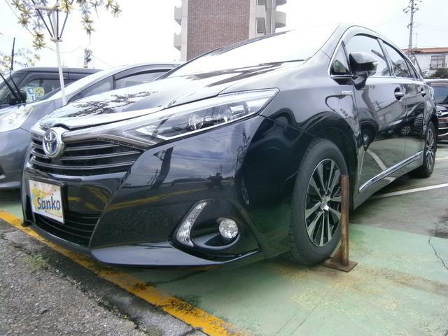 沖縄県の中古車ならSAI G メーカーSDナビ ブルートゥースオーディオ パワーシート