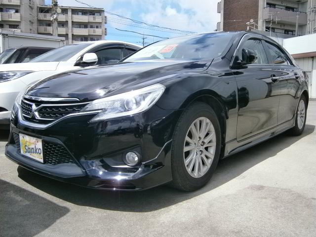 沖縄県の中古車ならマークX 250G Sパッケージ SDナビ モデリスタエアロ