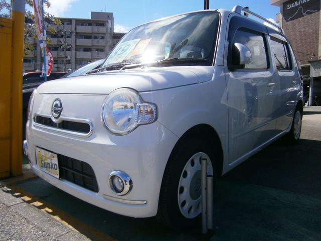 沖縄県の中古車ならミラココア ココアプラスXSDナビバックモニターブルートゥースオーディオ