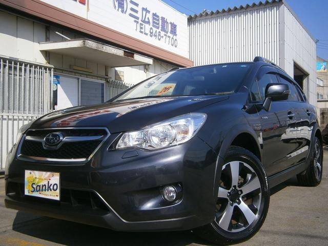 沖縄の中古車 スバル XVハイブリッド 車両価格 149万円 リ済込 2014(平成26)年 7.2万km ダークグレーM