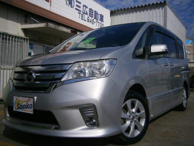 沖縄の中古車 日産 セレナ 車両価格 99万円 リ済込 2012(平成24)年 9.7万km シルバーM