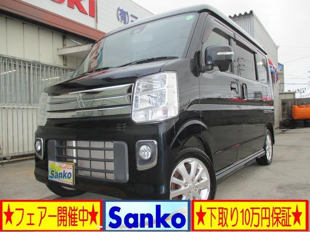 沖縄の中古車 三菱 タウンボックス 車両価格 142万円 リ済込 2017(平成29)年 5.7万km DブラックM