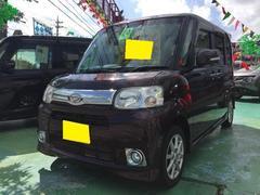 沖縄の中古車 ダイハツ タント 車両価格 83万円 リ済込 平成24年 6.6万K ワインM