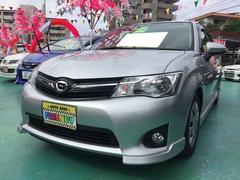 沖縄の中古車 トヨタ カローラフィールダー 車両価格 99万円 リ済込 平成24年 7.3万K シルバー