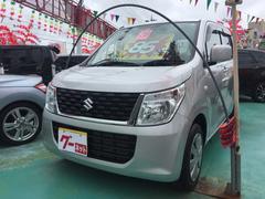 沖縄の中古車 スズキ ワゴンR 車両価格 85万円 リ済込 平成28年 1.5万K シルバー