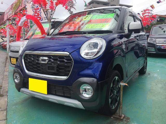 沖縄の中古車 ダイハツ キャスト 車両価格 119万円 リ済込 平成27年 2.7万km ブルーM