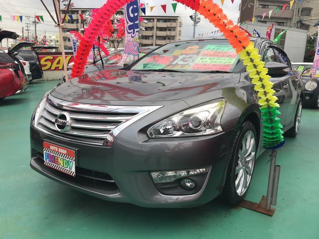 沖縄の中古車 日産 ティアナ 車両価格 139万円 リ済込 平成26年 6.5万km グレー