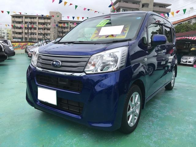 沖縄の中古車 スバル ステラ 車両価格 83万円 リ済込 平成27年 7.2万km ダークブルーM
