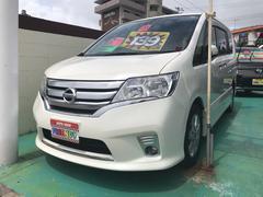 沖縄の中古車 日産 セレナ 車両価格 139万円 リ済込 平成25年 7.8万K パールホワイト