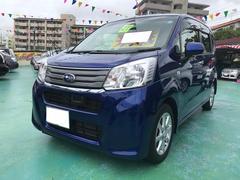 沖縄の中古車 スバル ステラ 車両価格 89万円 リ済込 平成27年 7.2万K ダークブルーM