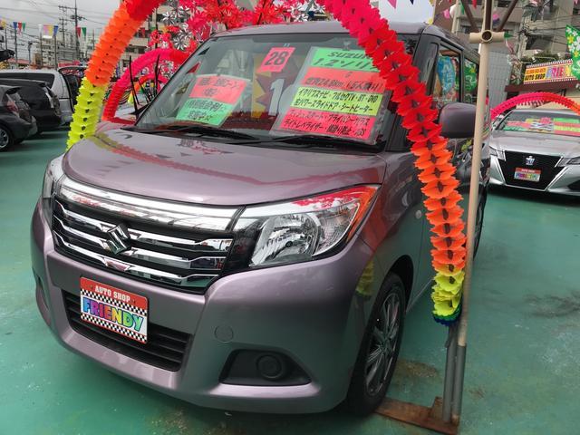 沖縄の中古車 スズキ ソリオ 車両価格 109万円 リ済込 平成28年 5.3万km ライトパープル
