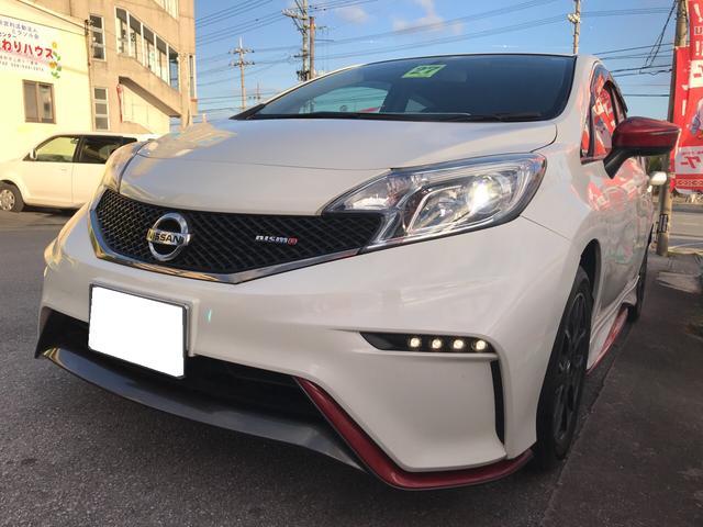 沖縄の中古車 日産 ノート 車両価格 129万円 リ済込 平成27年 7.1万km パールII