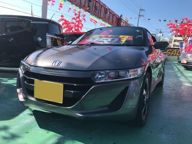 沖縄の中古車 ホンダ S660 車両価格 159万円 リ済込 2016(平成28)年 6.0万km グレー