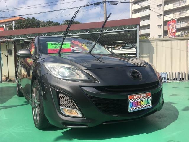 沖縄の中古車 マツダ アクセラスポーツ 車両価格 69万円 リ済込 平成23年 9.6万km グレー