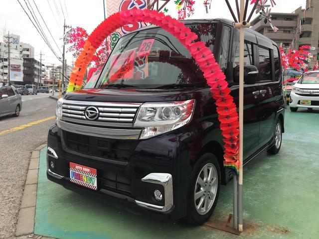 沖縄の中古車 ダイハツ タント 車両価格 119万円 リ済込 平成28年 7.4万km パープル