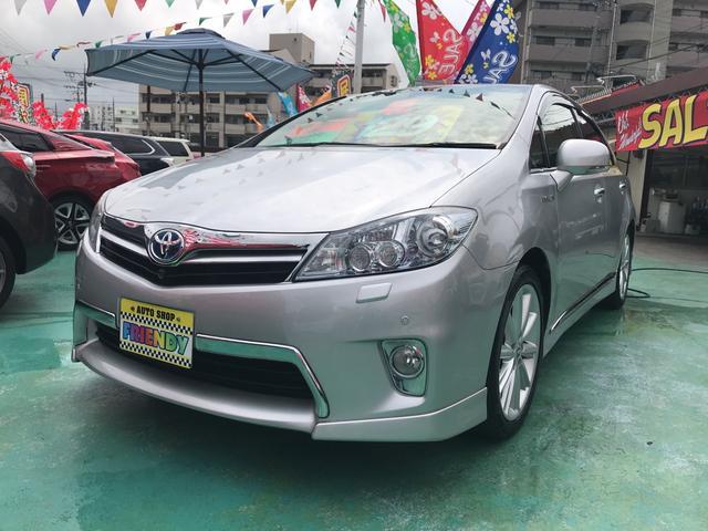 沖縄の中古車 トヨタ SAI 車両価格 129万円 リ済込 2013(平成25)年 6.3万km シルバー