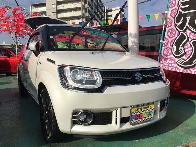 沖縄の中古車 スズキ イグニス 車両価格 119万円 リ済込 2016(平成28)年 3.9万km パール