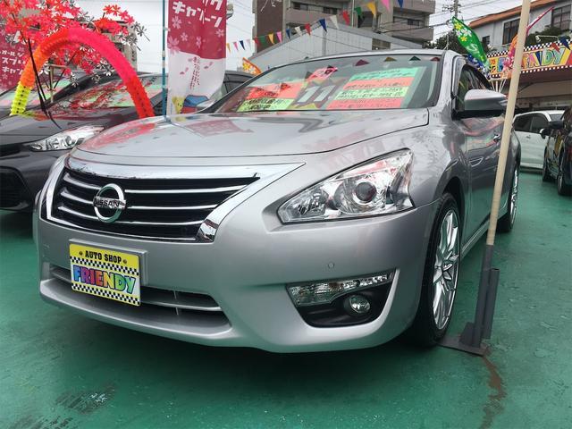 沖縄の中古車 日産 ティアナ 車両価格 129万円 リ済込 2016(平成28)年 6.9万km シルバー