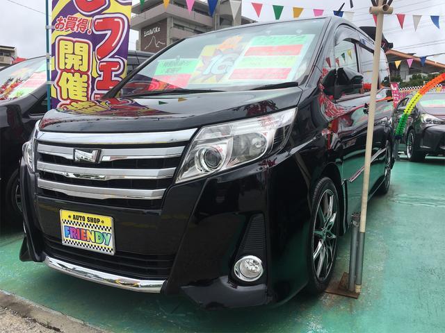 沖縄の中古車 トヨタ ノア 車両価格 179万円 リ済込 2014(平成26)年 8.3万km ブラック