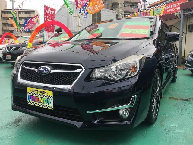 沖縄の中古車 スバル インプレッサスポーツ 車両価格 109万円 リ済込 2014(平成26)年 8.2万km 紺