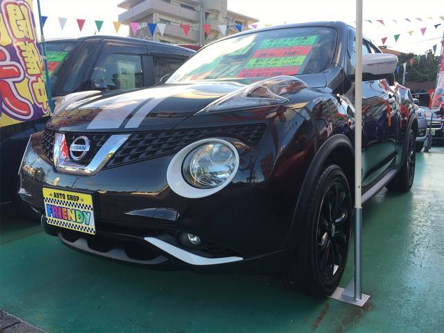 沖縄の中古車 日産 ジューク 車両価格 119万円 リ済込 2015(平成27)年 5.0万km ブラック
