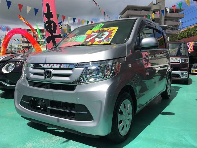 沖縄の中古車 ホンダ N-WGN 車両価格 79万円 リ済込 2017(平成29)年 5.6万km シルバーM
