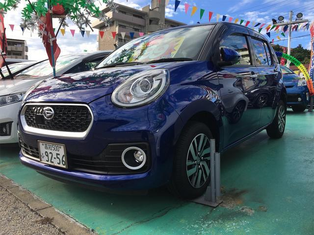 沖縄の中古車 ダイハツ ブーン 車両価格 89万円 リ済込 2016(平成28)年 6.6万km 紺II