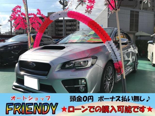 ☆STiエアロパーツ・300馬力ターボ☆ 純正OP18インチAW・純正ナビ・TV・パワーシート・ハーフレザーシート
