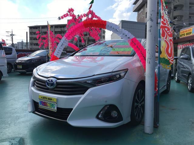 沖縄の中古車 トヨタ SAI 車両価格 129万円 リ済込 2014(平成26)年 9.4万km パール
